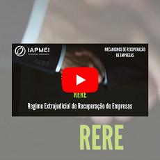 RERE | IAPMEI lança novo vídeo