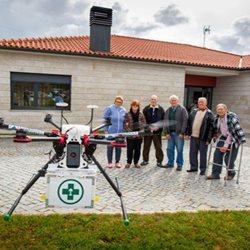 Empresa portuguesa testa entrega de medicamentos por drone com congénere Belga no âmbito da Enterprise Europe Network