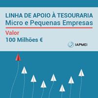 Linha de Apoio à Tesouraria para Micro e Pequenas Empresas já está disponível